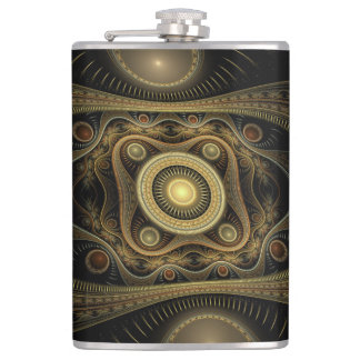 Steampunk Exeter Flask