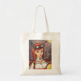 Steampunk Fairy Tote Budget Tote Bag