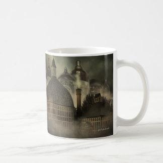 Steampunk Fantasy Architecture - The Valve Works Coffee Mug