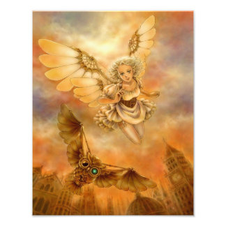 Steampunk Fantasy Art Photo Print