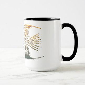 Steampunk fish mugs