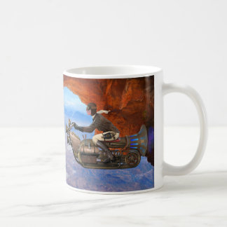 Steampunk Flying Machine Coffee Mug