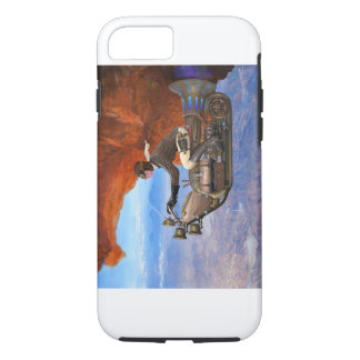 Steampunk Flying Machine iPhone 8/7 Case