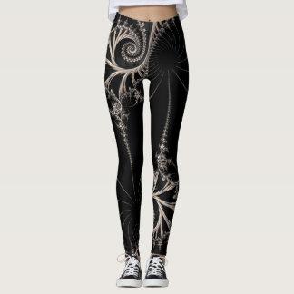 Steampunk fractal leggings