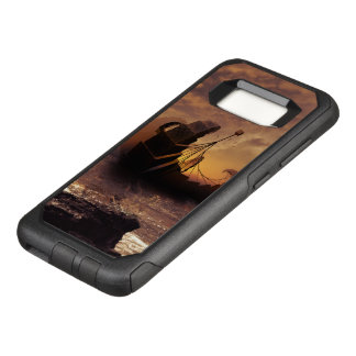 Steampunk Fractalscape, Ship for All Destinations OtterBox Commuter Samsung Galaxy S8 Case