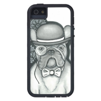 Steampunk Frenchie iPhone SE / iPhone 5/5S case