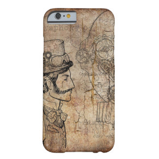 Steampunk gear designs barely there iPhone 6 case