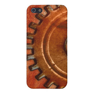 Steampunk Gear on Leather-look iPhone Speck Case iPhone 5/5S Case