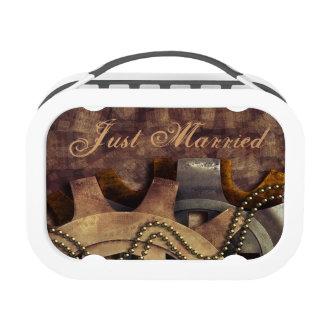 Steampunk Gears & Baubles Wedding Lunch Box
