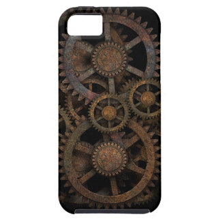 Steampunk gears iPhone 5 cases
