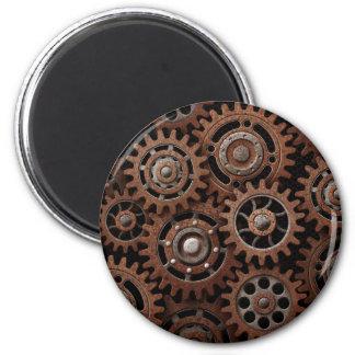 Steampunk Gears Magnet