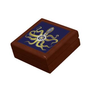 Steampunk Gears Octopus Kraken Gift Box