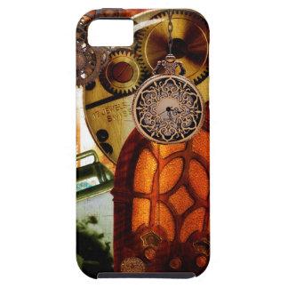 Steampunk Gears Radio Globe Watch works iPhone 5 Case