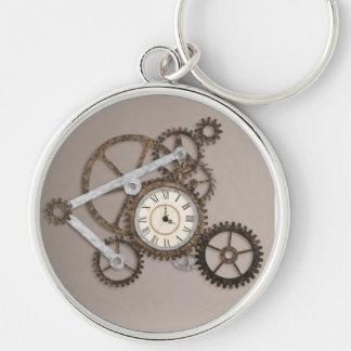 Steampunk Gears Two Keychain