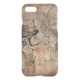 Steampunk Gentleman Retro Gears iPhone 8/7 Case