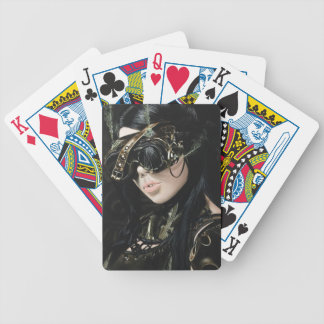 STEAMPUNK GIRL I BICYCLE PLAYING CARDS