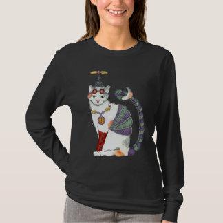 Steampunk Gretel Cat Dark Tee