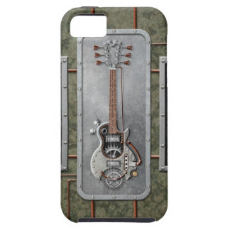 Steampunk Guitar iPhone 5 Covers