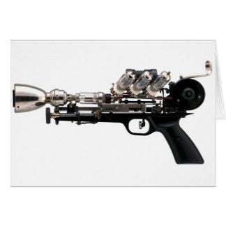 Steampunk Gun Card