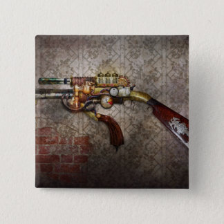 Steampunk - Gun - The sidearm 2 Inch Square Button