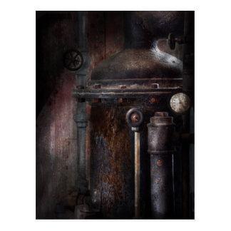 Steampunk - Handling Pressure Postcard