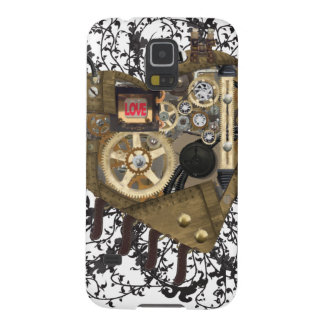 Steampunk Heart Love Cases For Galaxy S5