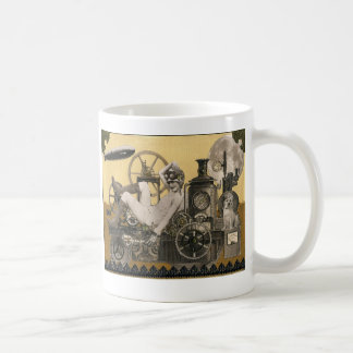 Steampunk Heroine Coffee Mug