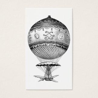 Steampunk Hot Air Balloon Business Card