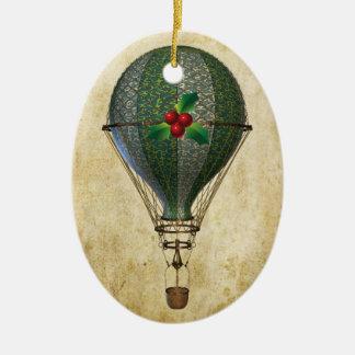 Steampunk Hot Air Balloon Ornament