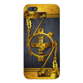 Steampunk in Wood & Brass iPhone 5 Cases