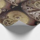 Steampunk Industrial Clock Gears Wrap/Craft Paper