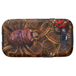 Steampunk - Insect - Itsy bitsy spiders Samsung Galaxy SIII Case