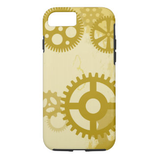 Steampunk iPhone 7, Tough Phone Case