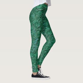 Steampunk Jade Leggings