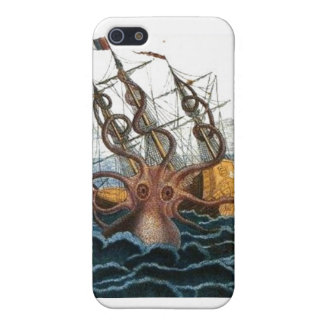 Steampunk Kraken Giant Octopus Nautical iPhone 5/5S Covers