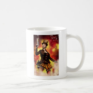 Steampunk Lady Coffee Mug