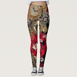 Steampunk Leggings WOMENS Steam Punk Yoga Pants