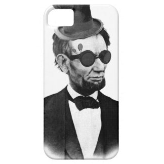 Steampunk Lincoln iPhone 5 Case