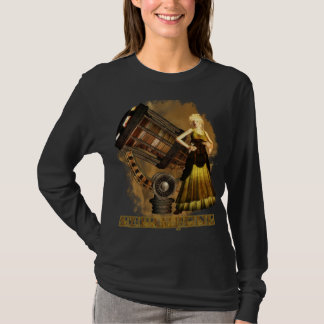 Steampunk Long Sleve T Ceris Telescopic Dream T-Shirt