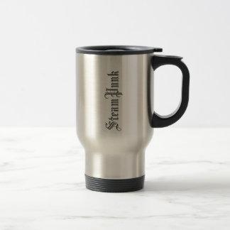 SteamPunk Love 15 Oz Stainless Steel Travel Mug