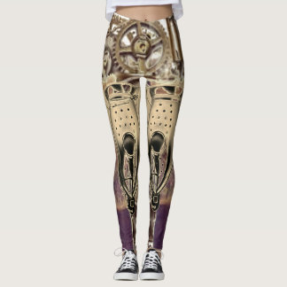 Steampunk Machine Armor Leggings