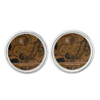 Steampunk Machinery (Copper) Cufflinks