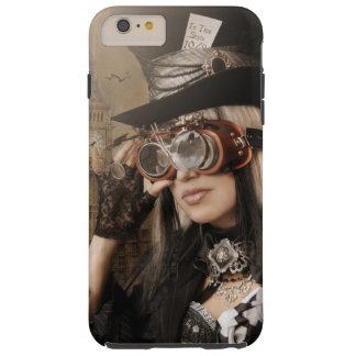 Steampunk Mad Hatter Tough iPhone 6 Plus Case