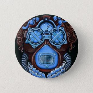 Steampunk Masquerade Button