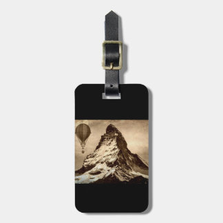 Steampunk Matterhorn Bag Tag