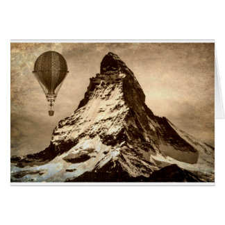 Steampunk Matterhorn Card