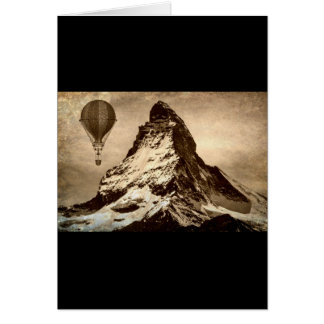 Steampunk Matterhorn Card