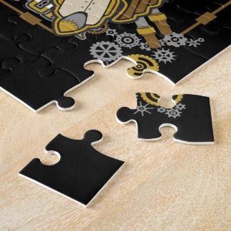 Steampunk Mechanical Cowboy Jigsaw Puzzle