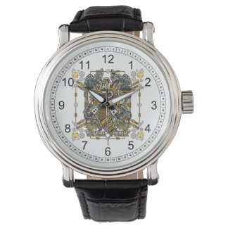 Steampunk Mechanical Gas Mask Wristwatch