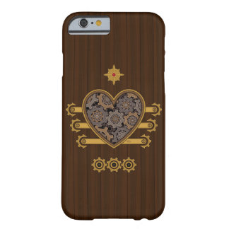 Steampunk Mechanical Heart Barely There iPhone 6 Case